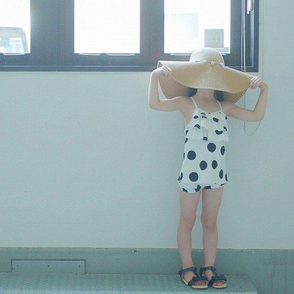 ドットgirlスイムウエア / MR(マル)/ 90-130cm