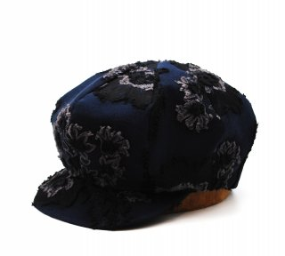 Flower casquette - フラワーキャスケット<img class='new_mark_img2' src='https://img.shop-pro.jp/img/new/icons21.gif' style='border:none;display:inline;margin:0px;padding:0px;width:auto;' />