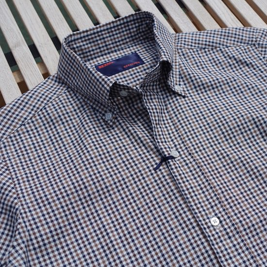"【40%OFF】林氏別注 ""stormtex gingham check shirts""<img class='new_mark_img2' src='https://img.shop-pro.jp/img/new/icons25.gif' style='border:none;display:inline;margin:0px;padding:0px;width:auto;' />"