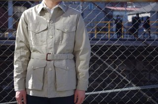 "Empire&Sons ""Bush Poplin Safari Jacket""<img class='new_mark_img2' src='//img.shop-pro.jp/img/new/icons24.gif' style='border:none;display:inline;margin:0px;padding:0px;width:auto;' />"