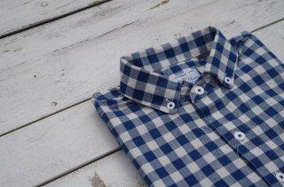 "Arvor Maree ""sheeting check P/O shirt"""