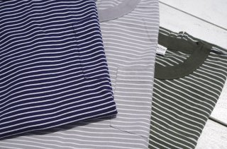 "【20%OFF】Mayo SPRUCE "" ATHLETIC STRIPE POCKET TEE"""