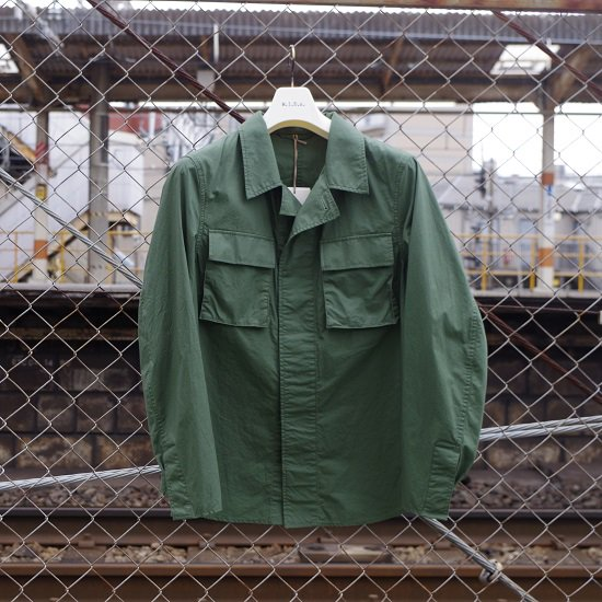"【50% OFF】M.I.D.A.  ""Shirts Jacket""<img class='new_mark_img2' src='//img.shop-pro.jp/img/new/icons20.gif' style='border:none;display:inline;margin:0px;padding:0px;width:auto;' />"
