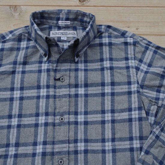 """【30%OFF】INDIVIDUALIZED SHIRTS """"FLANNEL CHECK SHIRTS SECOURS fit"""""""