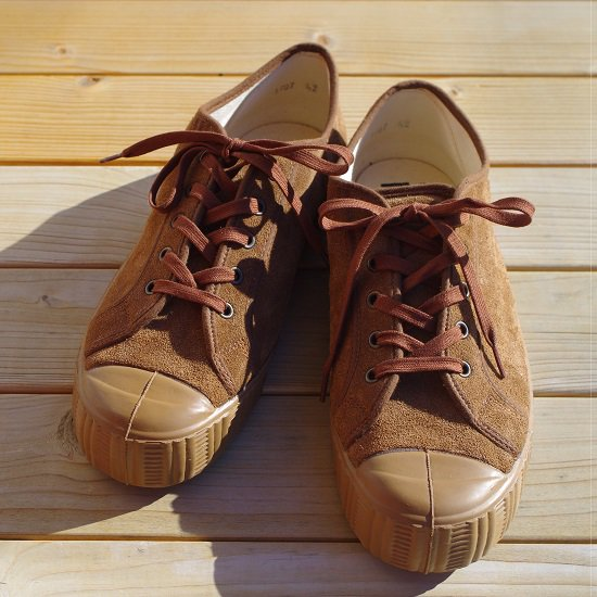 "【10%OFF】FERN""ARMY TYPE LOW SUEDE"""