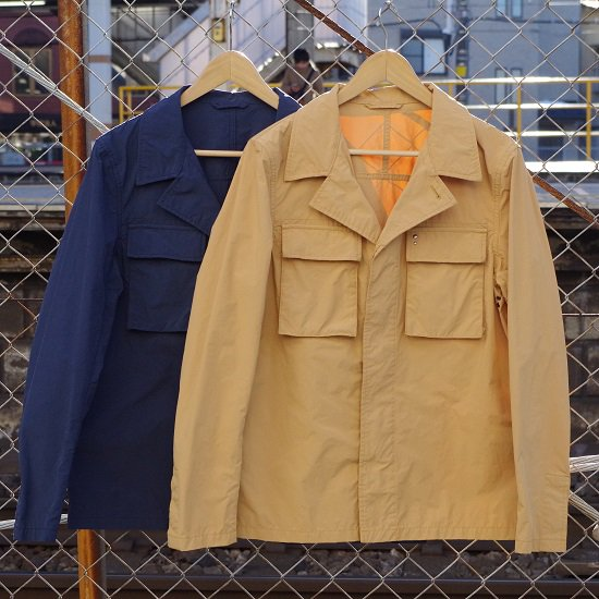 "【50%OFF】M.I.D.A. ""military shirts Jacket"""