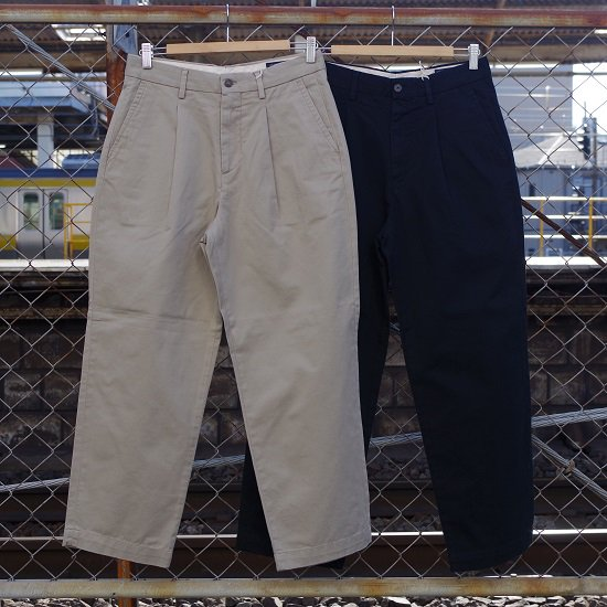 "RICCARDO METHA ""1tuck wide trousers DRAGON TWILL"" <img class='new_mark_img2' src='//img.shop-pro.jp/img/new/icons5.gif' style='border:none;display:inline;margin:0px;padding:0px;width:auto;' />"
