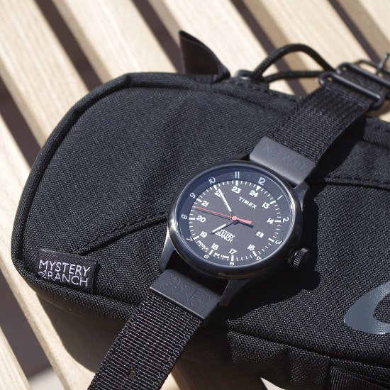 "MYSTERY RANCH×TIMEX ""field watch special package"""