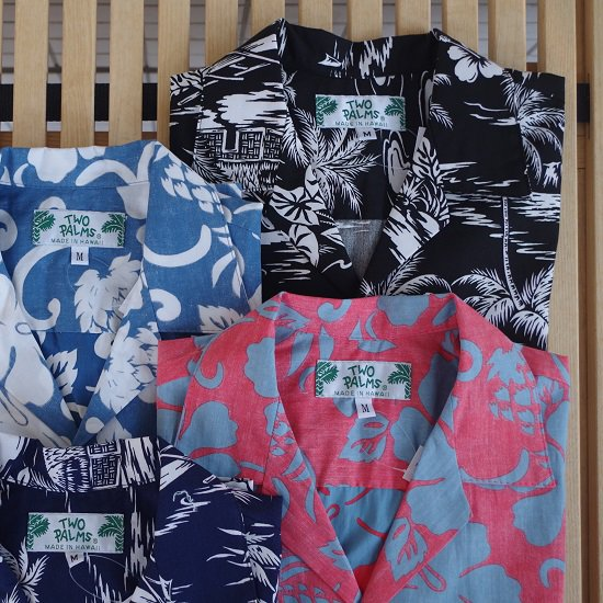 "TWO PALMS ""Hawaiian Print Shirt"""