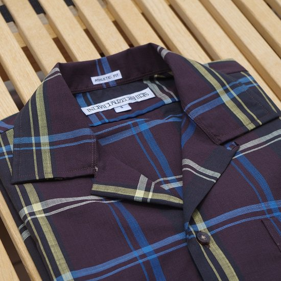"【Mサイズのみ!】INDIVIDUALIZED SHIRTS ""Athletic Fit Check Shirts"""