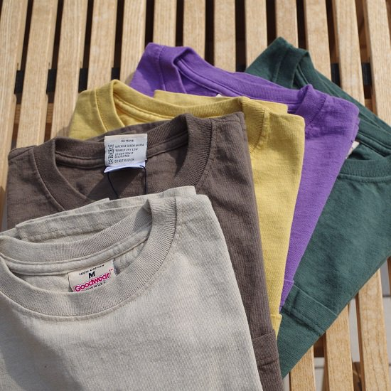 "【10%OFF】GOODWEAR ""S/S CREW NECK POCKET TEE""<img class='new_mark_img2' src='//img.shop-pro.jp/img/new/icons5.gif' style='border:none;display:inline;margin:0px;padding:0px;width:auto;' />"