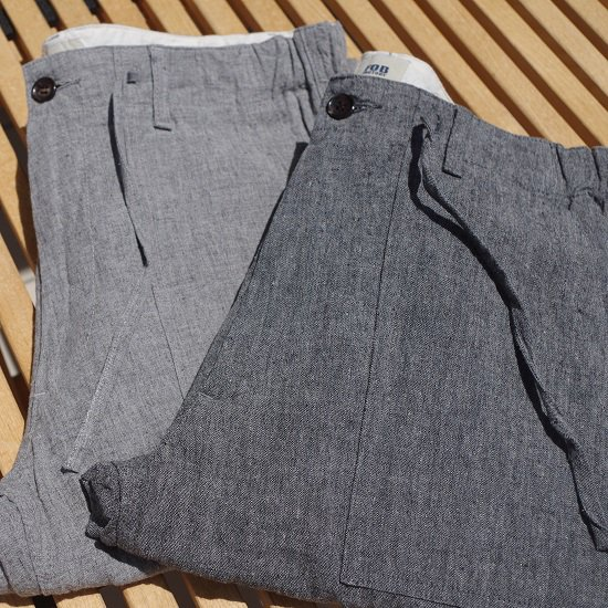 "【30%OFF】FOB FACTORY ""F0449 LINEN BIND BAKER PANTS"""