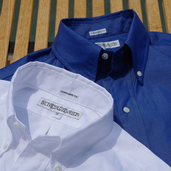 """【30%OFF】INDIVIDUALIZED SHIRTS """"2/80 pinpoint oxford B.D SHIRTS"""""""
