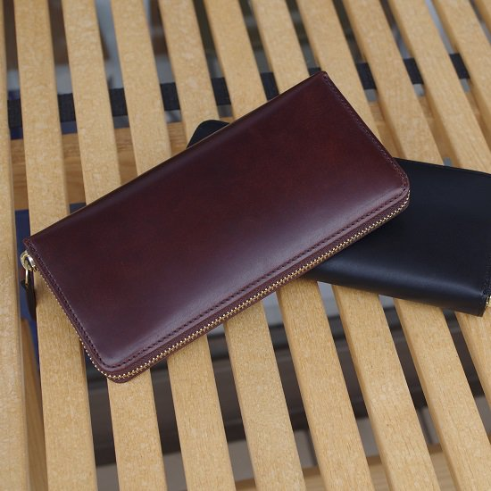 """SLOW herbie """"round zip long wallet"""""""