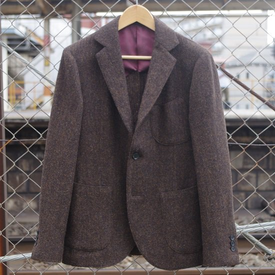 "HYPERION×SECOURS ""MOON TWEED JACKET"""