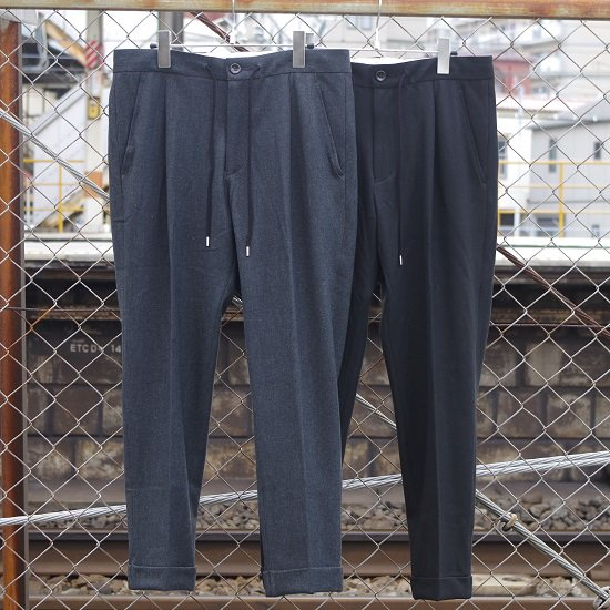"melple ""winter cat 1tuck pants"""