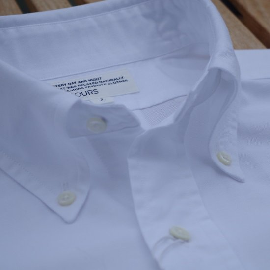 "SECOURS ""×Kamakura 40oxford B.D.シャツ"""