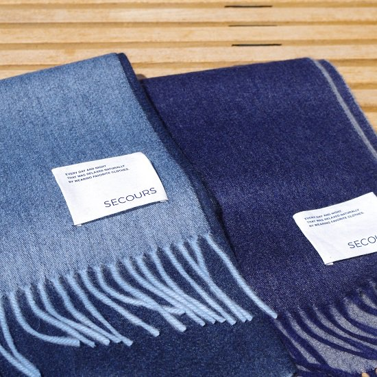 "【20%OFF】SECOURS ""Double Face CASHMERE STALL"""