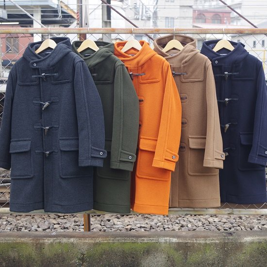 "INVERTERE ""Newton Abbot L/Length Duffle Coat"""