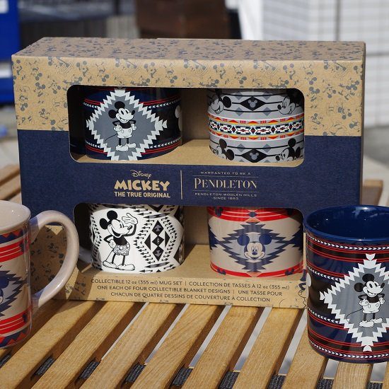"PENDLETON""Collectible Ceramic Mug Set"""
