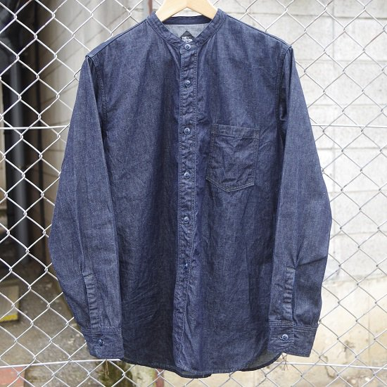 "CORONA ""NAVY1 POCKET BAND COLLER SHIRT"""
