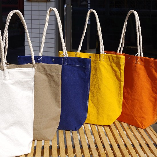 "SLOW ""rope tote bag"""