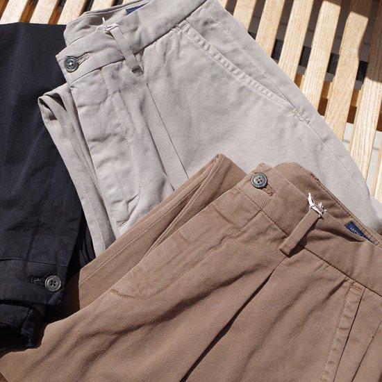 """【20%OFF】RICCARDO METHA """"1tuck wide trousers DRAGON TWILL"""""""
