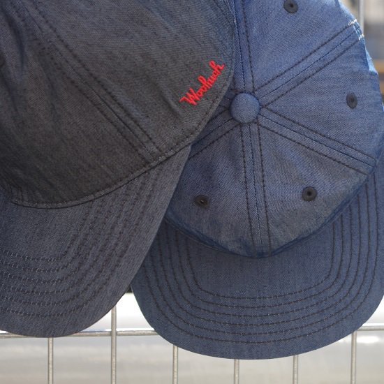 "WOOLRICH ""cotton×nylon BB CAP"""