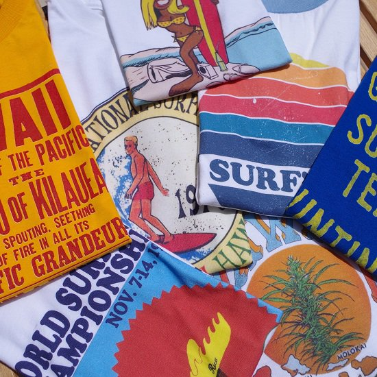 "【30%OFF】""CLASSIC SURF TEES"""