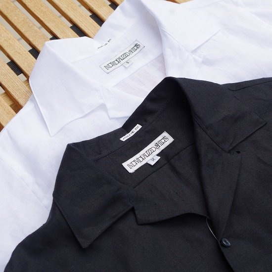 "【20%OFF】INDIVIDUALIZED SHIRTS ""LINEN CAMP COLLER SHIRTS"""