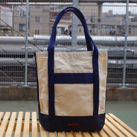 "BRIEFING ""CANVAS TOTE BUCKET"""