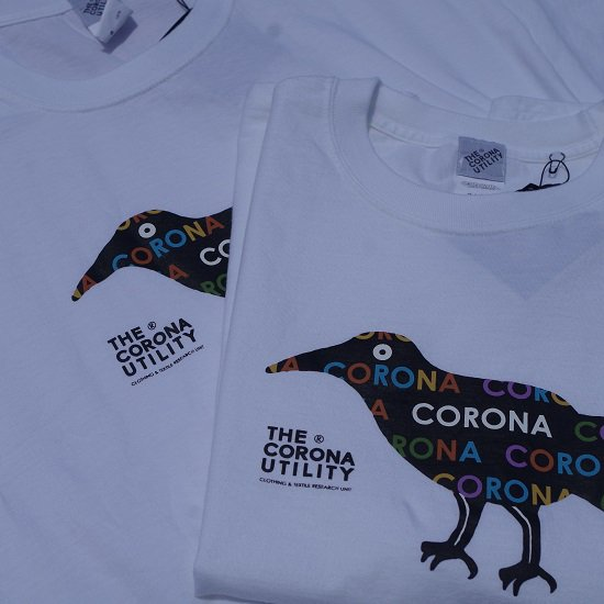 "CORONA ""CORONA TEE CROW""<img class='new_mark_img2' src='https://img.shop-pro.jp/img/new/icons5.gif' style='border:none;display:inline;margin:0px;padding:0px;width:auto;' />"