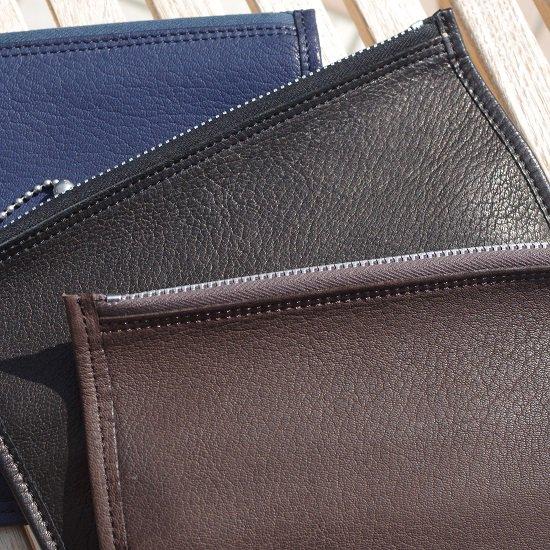 "SLOW -deer- ""deer soft pouch wallet L"""