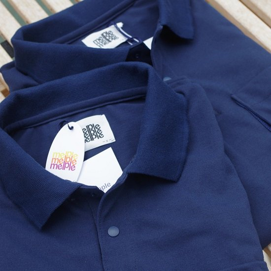 "【30%OFF】 melple ""mellow's dry L/S POLO"""