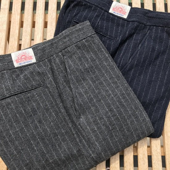 "melple ""Beach Tailor Centercrease Pants"""