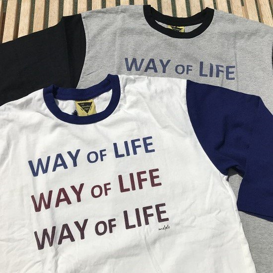 "melple ""WAY OF LIFE 7分袖"""