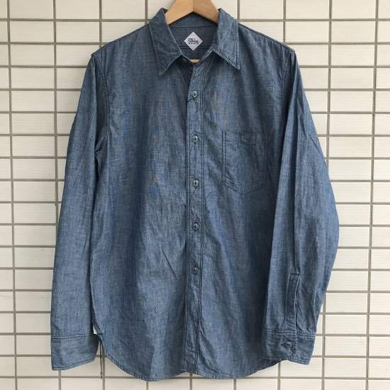 "CORONA ""NAVY 1POCKET SHIRT"""