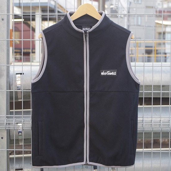 "【COMING SOON】WILD THINGS ""FLEECE MAGIC VEST"""