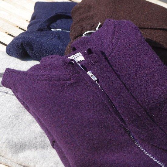 "【30%OFF】 ""cashmere-merino wool knit parka"""
