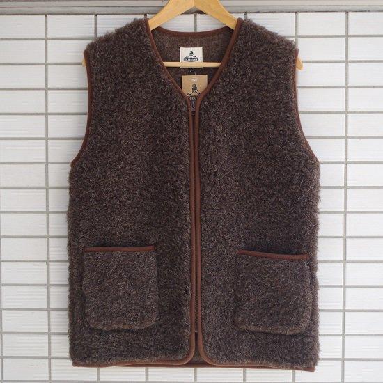 """【20%OFF】  COLDBREAKER """"wool pile zip VEST"""""""
