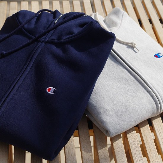 "Champion ""Reverse weave STORMSHELL zip up parka"""