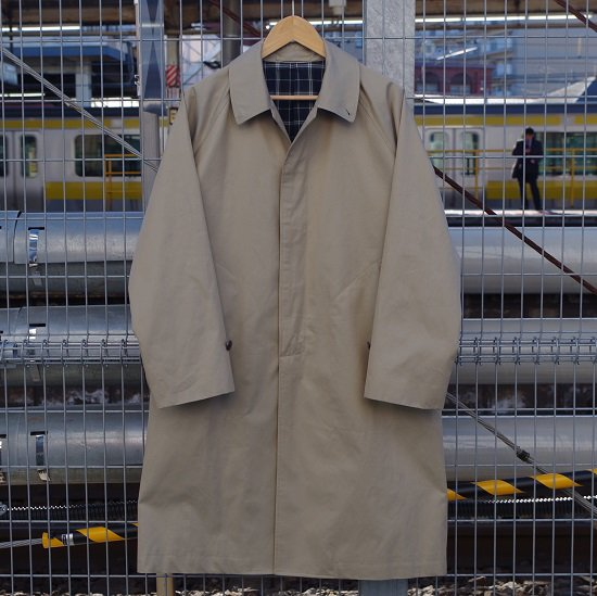 "HYPERION×SECOURS ""Burberry Twill Soutien Collar Coat"""