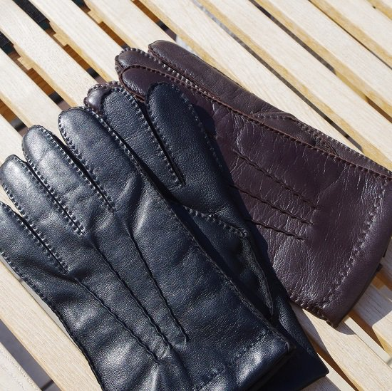 "DENTS ""Cashmere lined TouchScreen leather gloves"""