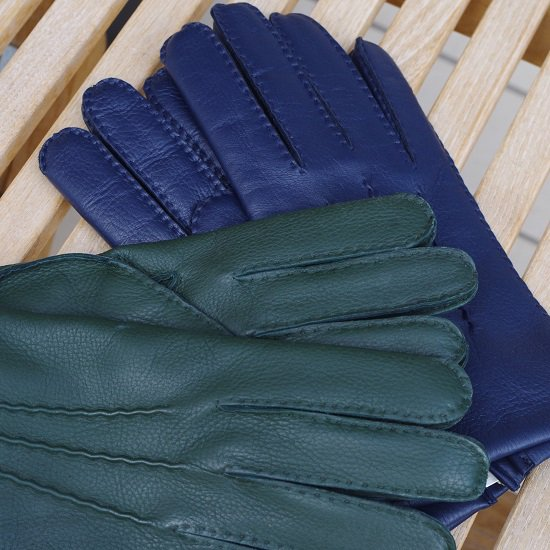 "DENTS ""Cashmere lined DEERSKIN leather gloves"""