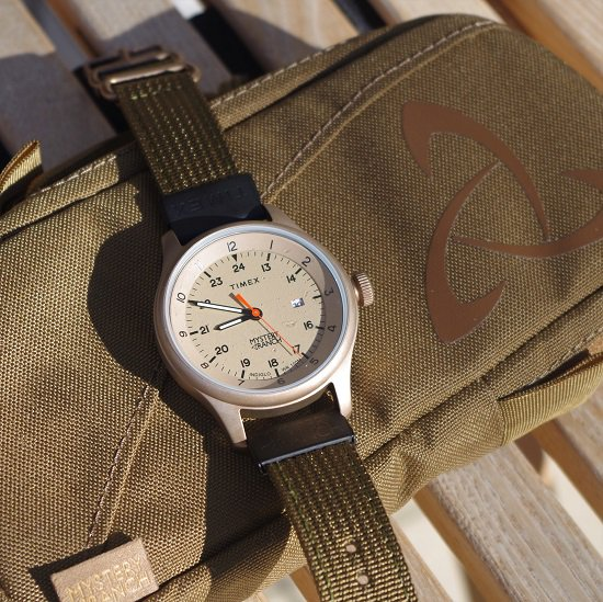 """MYSTERY RANCH×TIMEX """"field watch �""""<img class='new_mark_img2' src='https://img.shop-pro.jp/img/new/icons14.gif' style='border:none;display:inline;margin:0px;padding:0px;width:auto;' />"""