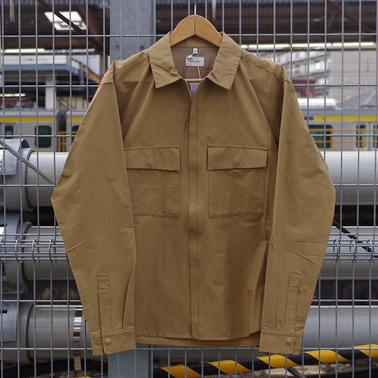 "WOOLRICH ""CORDURA×WOOL ZIP-UP SHIRT"""