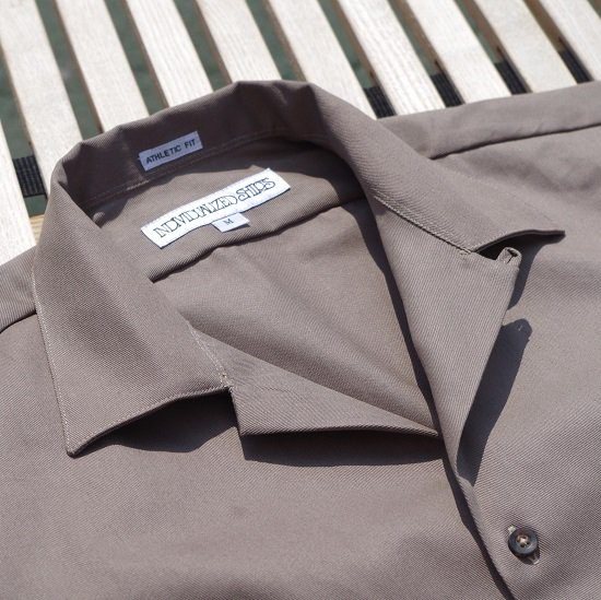 "INDIVIDUALIZED SHIRTS ""Camp Collar S/S Shirts"""