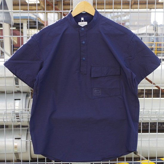 "WOOLRICH ""CORDURA×WOOL SHORT SLEEVE SHIRT"""