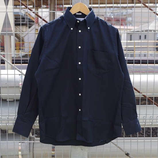 "【10%OFF】INDIVIDUALIZED SHIRTS ""NAVY TWILL ClassicFit"""