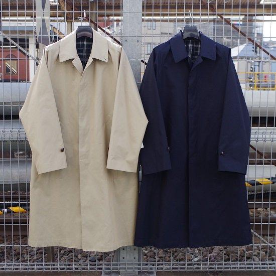 "HYPERION×SECOURS ""Burberry Twill Soutien Collar Coat"""